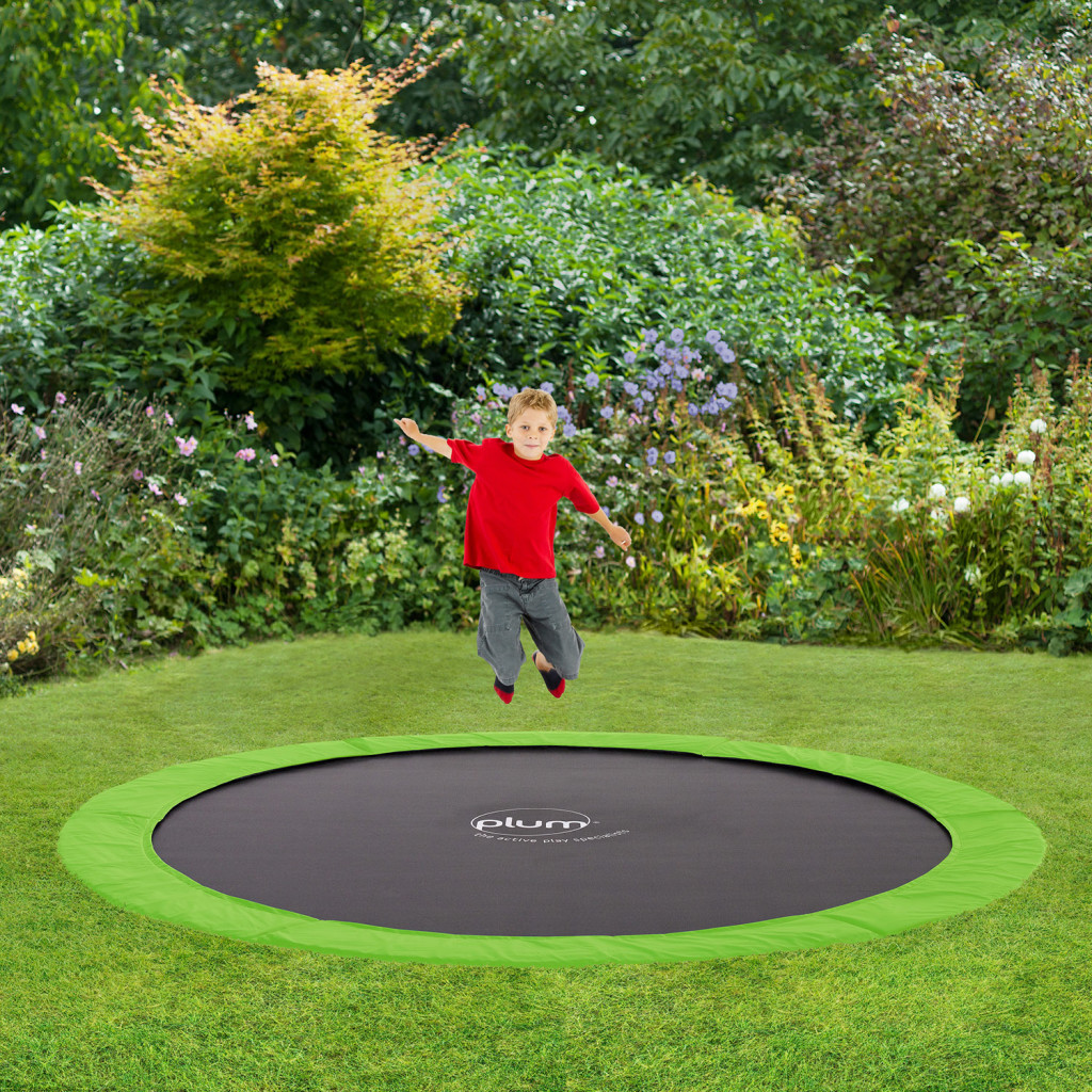 8ft in ground trampoline plum play. Black Bedroom Furniture Sets. Home Design Ideas