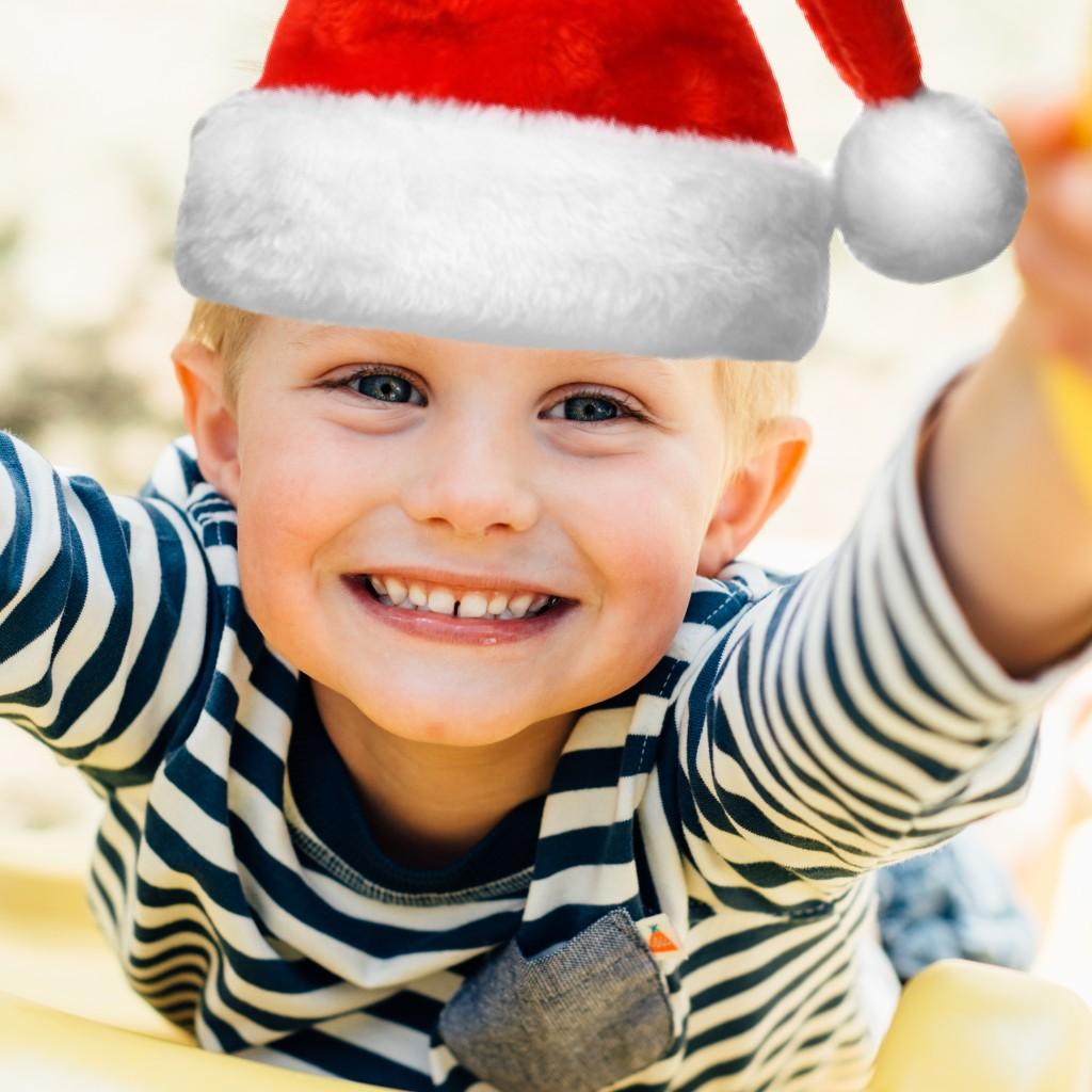 Boy with Santa Hat34