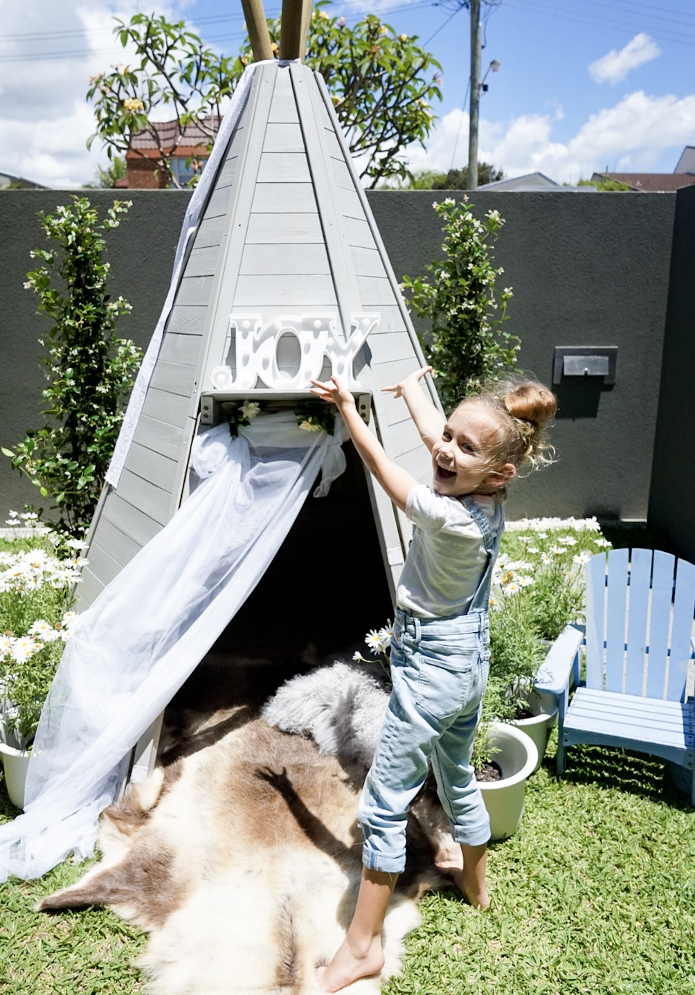 Teepee Styling with @alittleatlarge – Featuring our Wooden