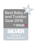 2016 Best Baby & Toddler Gear Award - Silver - Metal Climbing Dome