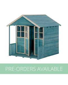 Plum® Wooden Cubby House - Teal