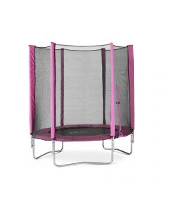 Pink Junior Trampoline and Enclosure - 6ft