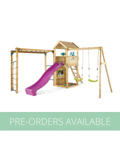 Plum Lookout Tower Colour Pop Play Centre with Monkey Bars