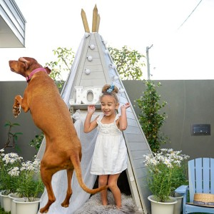 Teepee Styling with @alittleatlarge - Featuring our Wooden Teepee Hideaway!