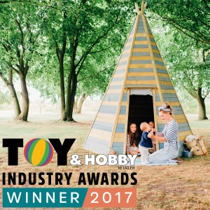 2017 Winner of the Toy and Hobby Retailer Awards - Preschool Product of the Year!