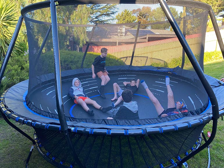 The Plum Bowl Trampoline