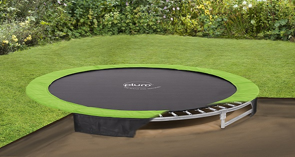 10ft in ground trampoline plum play. Black Bedroom Furniture Sets. Home Design Ideas