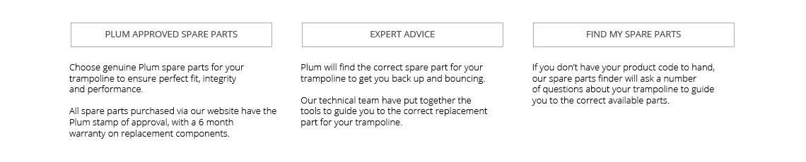 Trampoline Spares