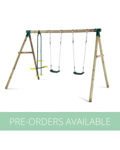 Colobus Wooden Swing Set