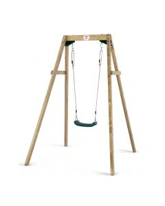 Single Wooden Swing Set 1