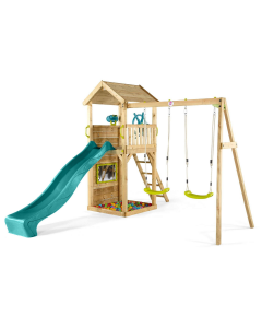 Colour Pop Lookout Tower With Swings